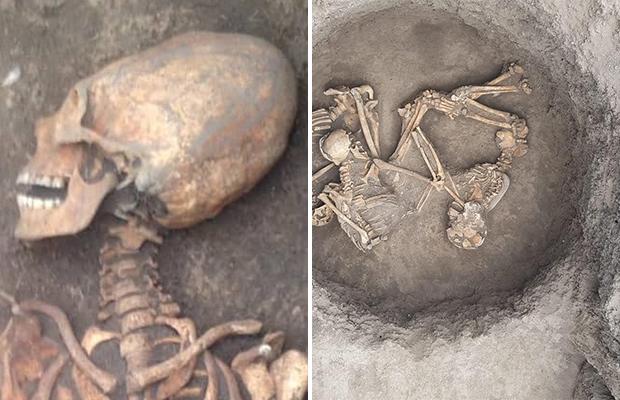 Древнее захоронение женщины с вытянутым черепом найдено в Ингушетии