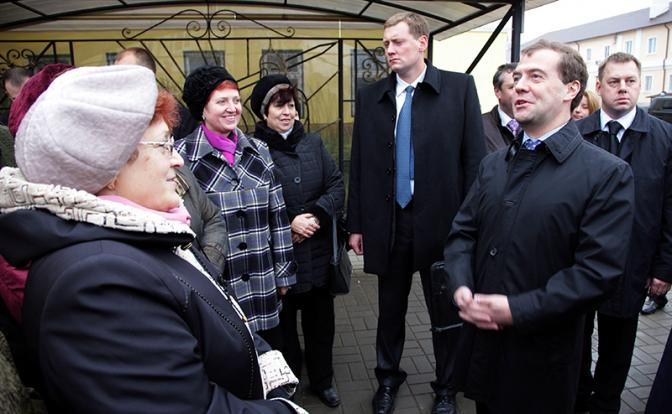 «Привет» Медведеву от пенсио…
