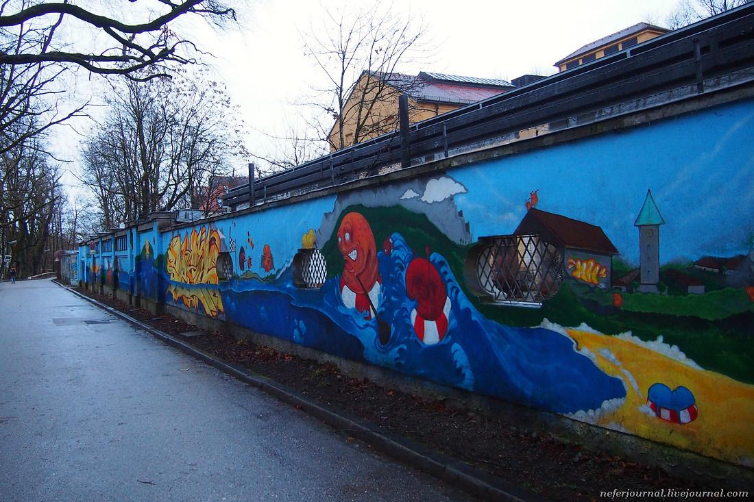 Граффити Мюнхена