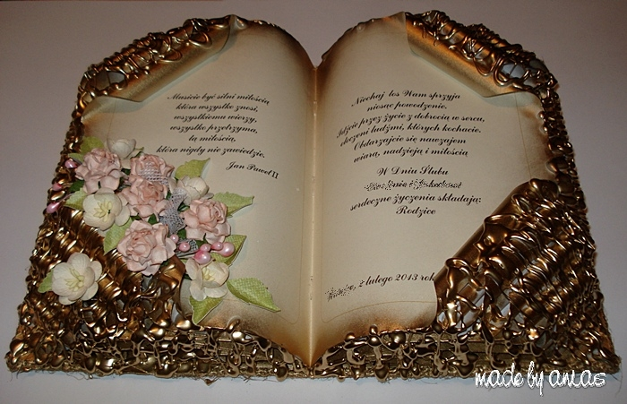 Конфетная книга мастер класс