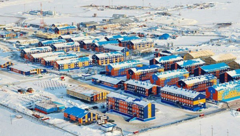 Как живет закрытый вахтовый поселок Сабетта наКрайнем Севере