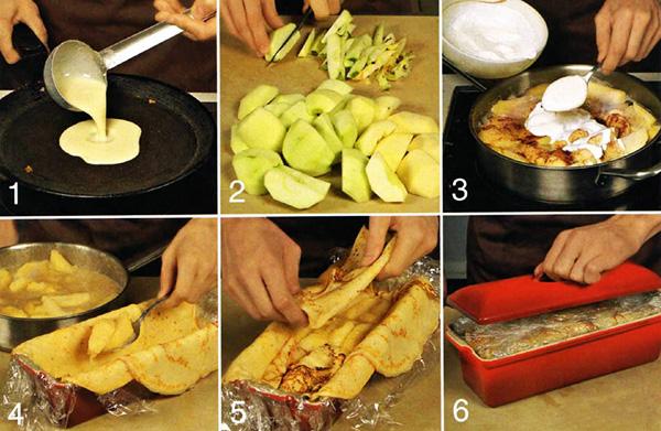 Как сделать начинку для блинного торта