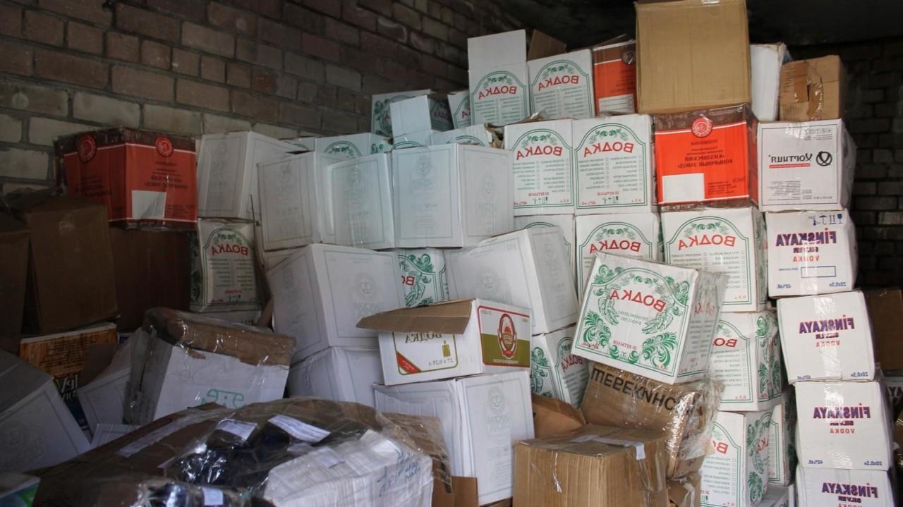В Новосибирске на 3 млн рублей оштрафовали склад за хранение алкоголя