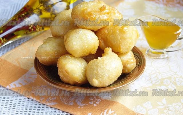 Греческие пончики «Лукумадес»