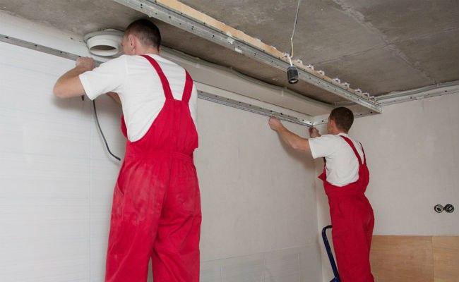 Подготовка потолка под натяж…
