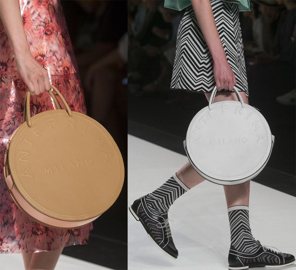 Модные круглые сумки 2019