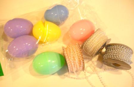 Готовимся к Пасхе. Яйца от Киндер Сюрпризов украшаем бисером МК