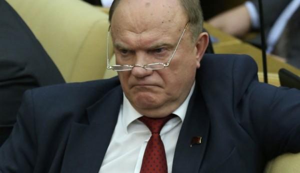 Зюганов обвинил всех в крими…