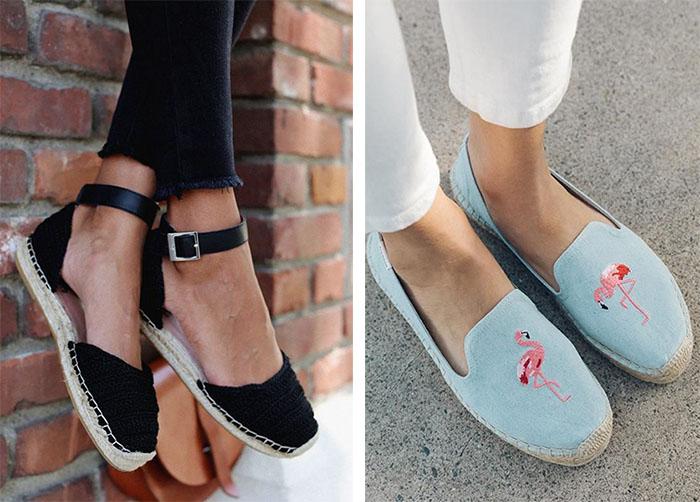 Эспадрильи — идеальная обувь для весны и лета
