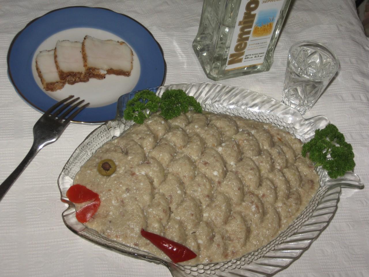 Паштет из соленой селедки рецепт пошагово в