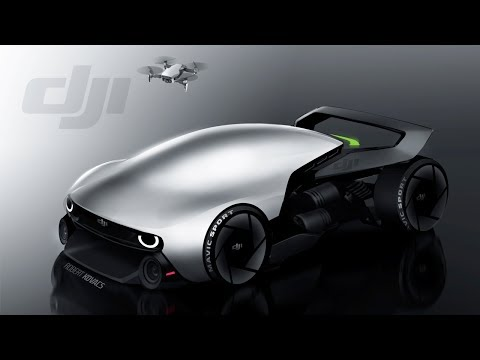Влияние дронов на дизайн автомобилей