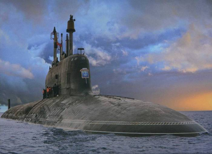 """Атомная подлодка """"Северодвинск"""" стала """"полигоном"""" для испытаний ракет """"Калибр"""""""