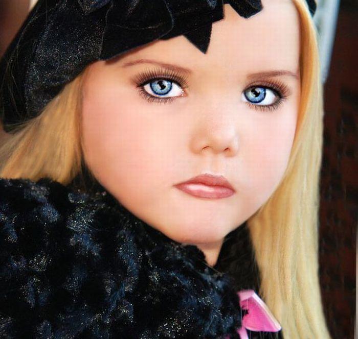 Живая кукла (34 фото)