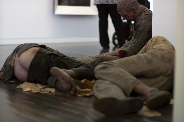 homeless 2 8 скульпторов, создающих самые невероятные гиперреалистичные скульптуры