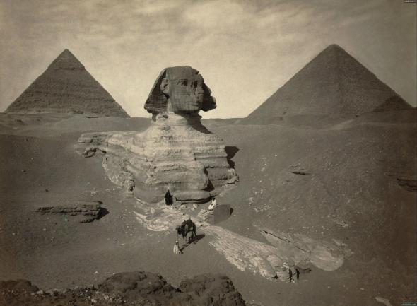 сфинкс Египет 1860