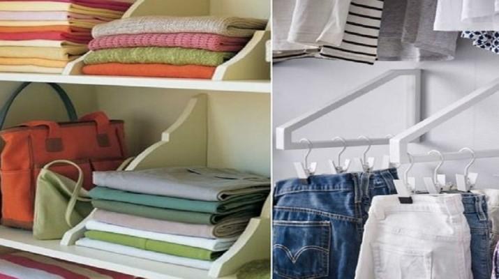 22 очумелых примера, как складывать вещи в шкафу