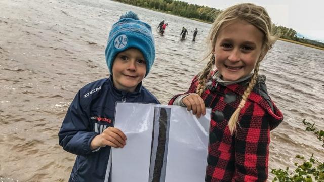 В Швеции нашли меч викингов