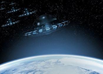 Житель Флориды заснял в небе целую эскадрилью НЛО
