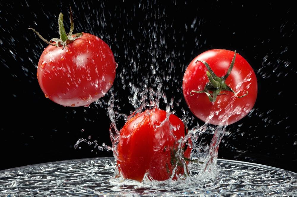 красивые помидоры!