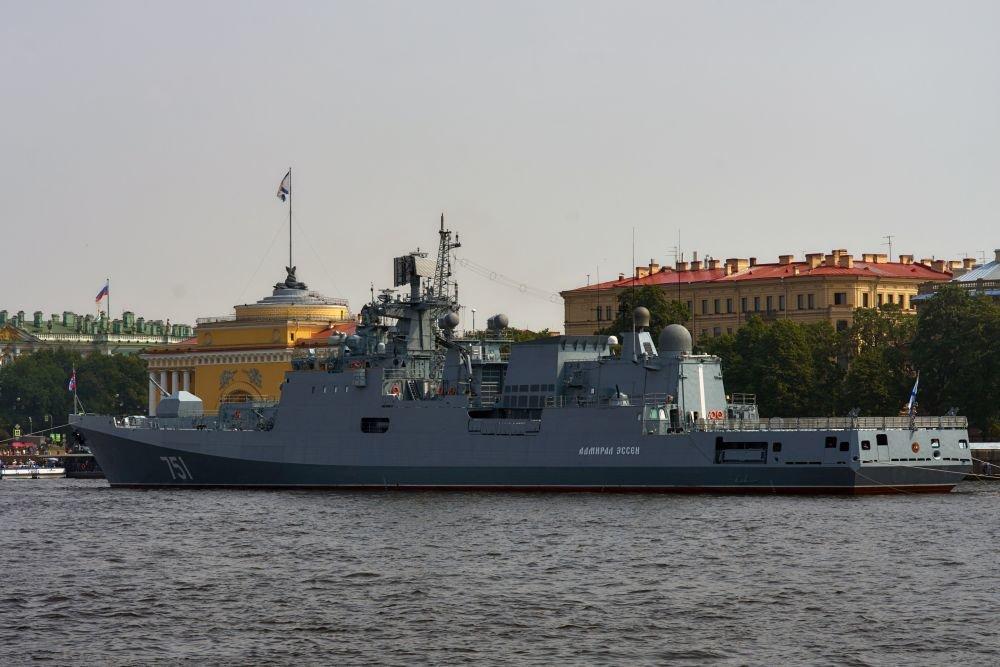 Найти подлодку США помогли особенности российского фрегата