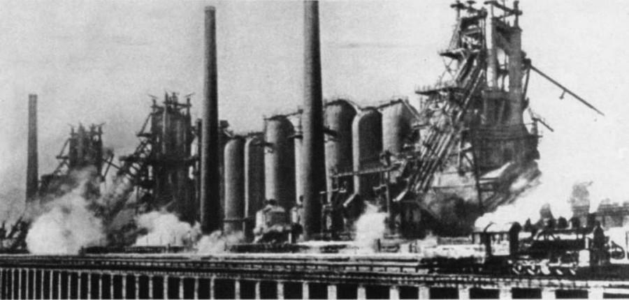 Список построенных при Сталине заводов
