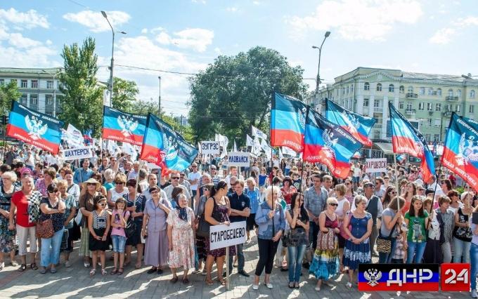Украинцы проголосовали за лишение гражданства жителей Донбасса