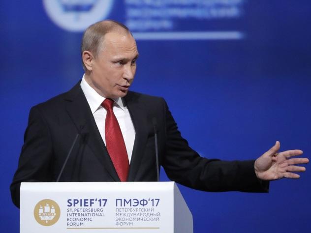 Путин возложил на Трампа вину за июньский снег