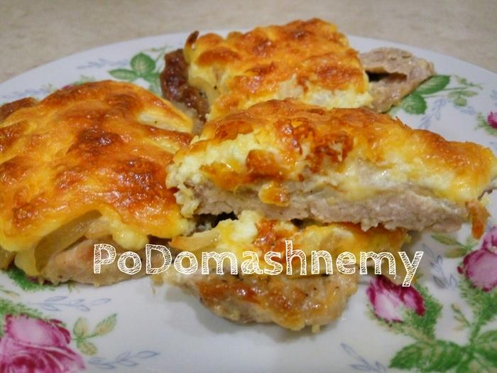 Сочное и нежное мясо под шубой Кулинария, Мясо в духовке, Запеченное мясо, Мясо по-французски, Видео