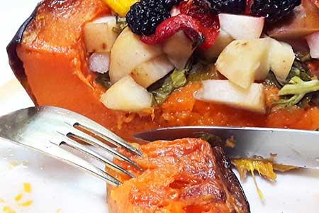 """тыква запеченная с фруктами и овощами кулинарный портал """"Мастеркок"""""""
