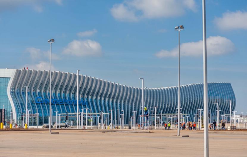 Новый терминал симферопольского аэропорта начнет работу 16 апреля