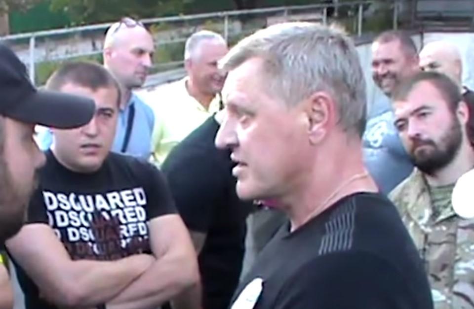 В Киеве нацисты поймали нациста, выдававшего себя за нациста (видео)