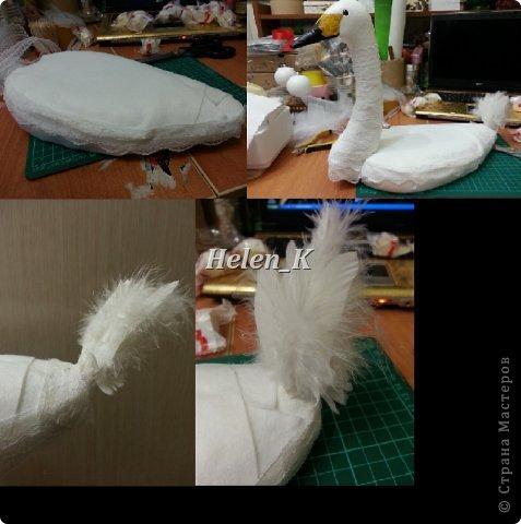 Мастер-класс Свит-дизайн 8 марта День рождения Свадьба Моделирование конструирование мастер класс лебедь с раффаэлло фото 6