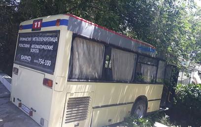 В Саратове неуправляемый автобус устроил массовое ДТП