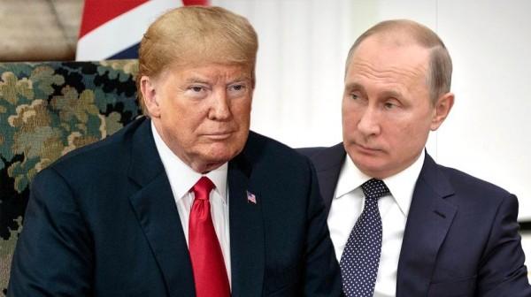 Путин и Трамп в виде матреше…