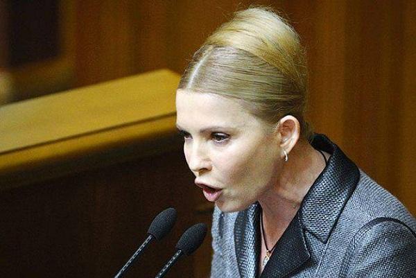 Тимошенко хочет вернуть Крым