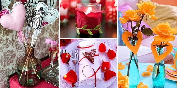 Украшение дома на День святого Валентина