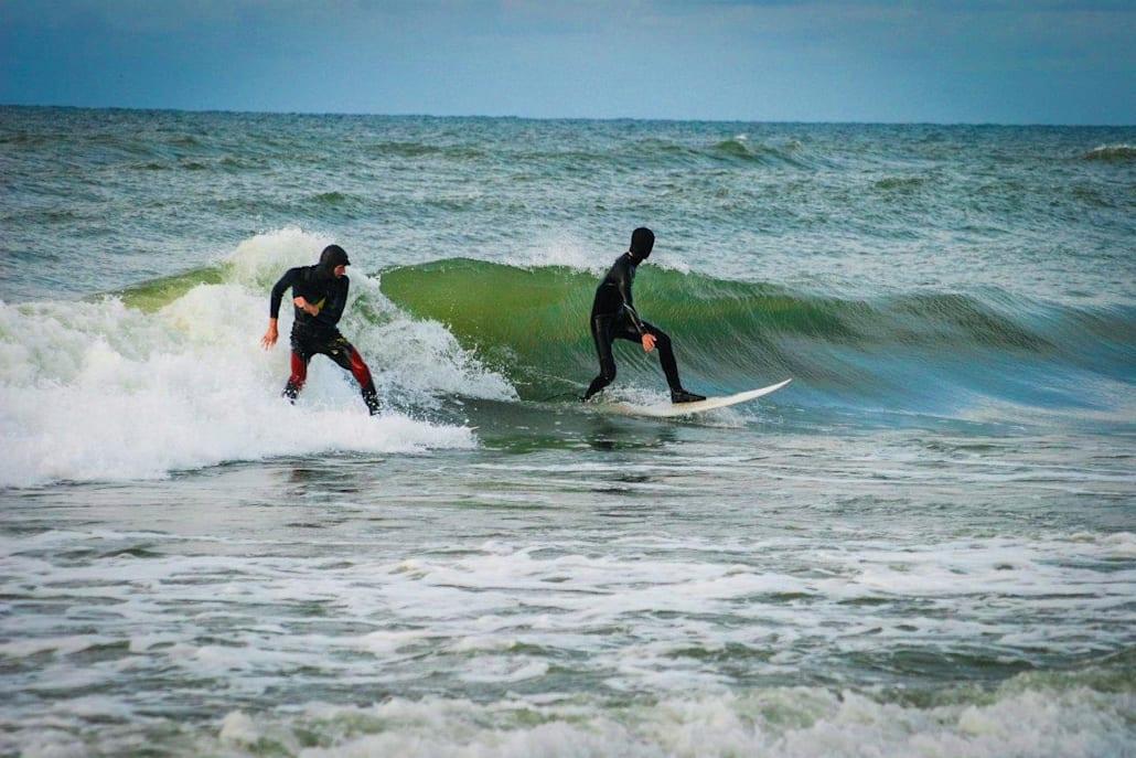 Сёрфинг в Килининграде