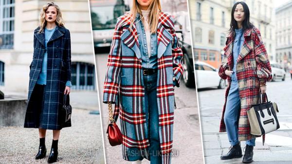 7 стильных пальто в клетку, в которые невозможно не влюбиться