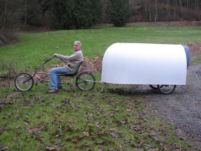 Велодомик для путешествий всего за 150 долларов