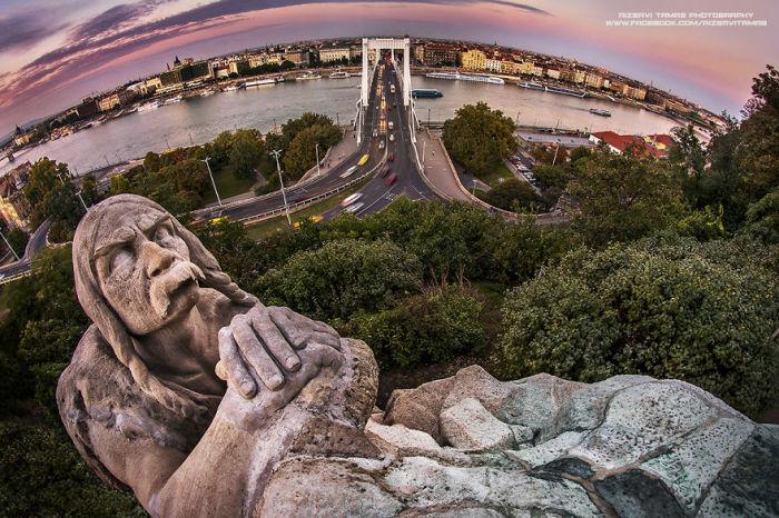 Фотографии Будапешта от Тамаша Рицави.