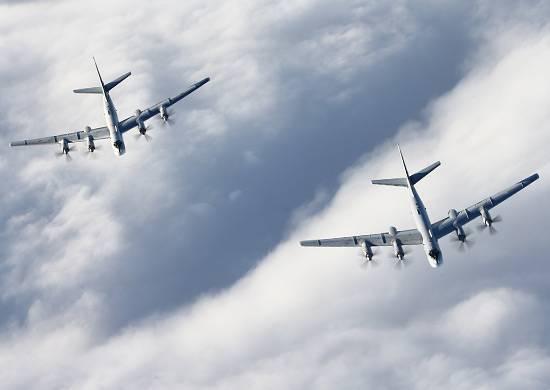 Американские СМИ возмутились тем, что истребители ВВС США не поднимались для перехвата Ту-95МС