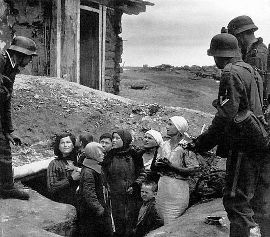 О чудесном спасении во время войны