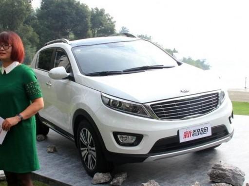 Kia Sportage зашел на рынок Китая с новым «лицом»