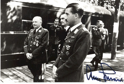 Протокол допроса генерал-лейтенанта люфтваффе Герстенберга