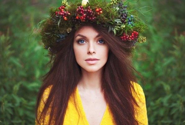 Цветочные венки)