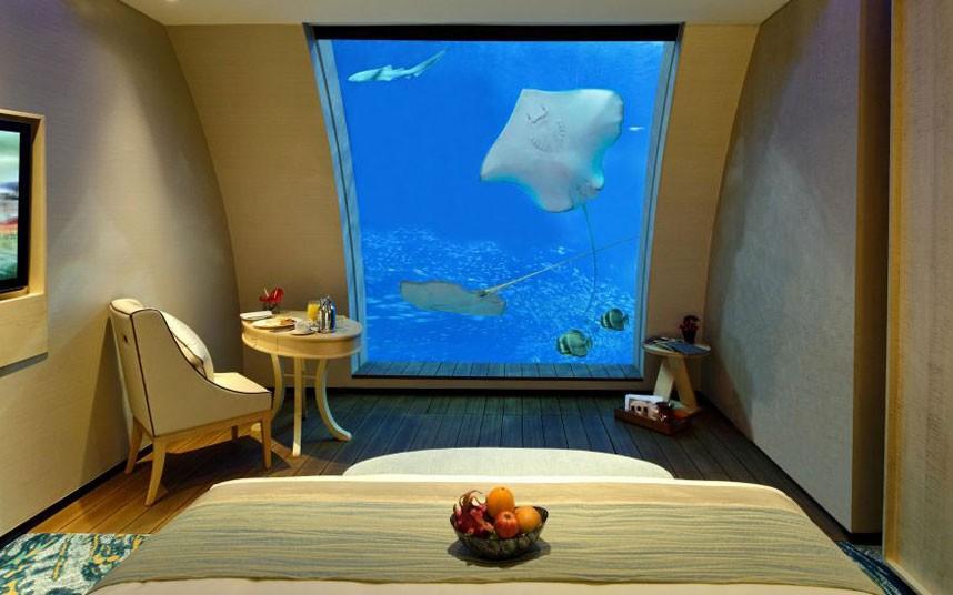 Hotel rooms with unusual views 2 Необычные виды из окон гостиничных номеров