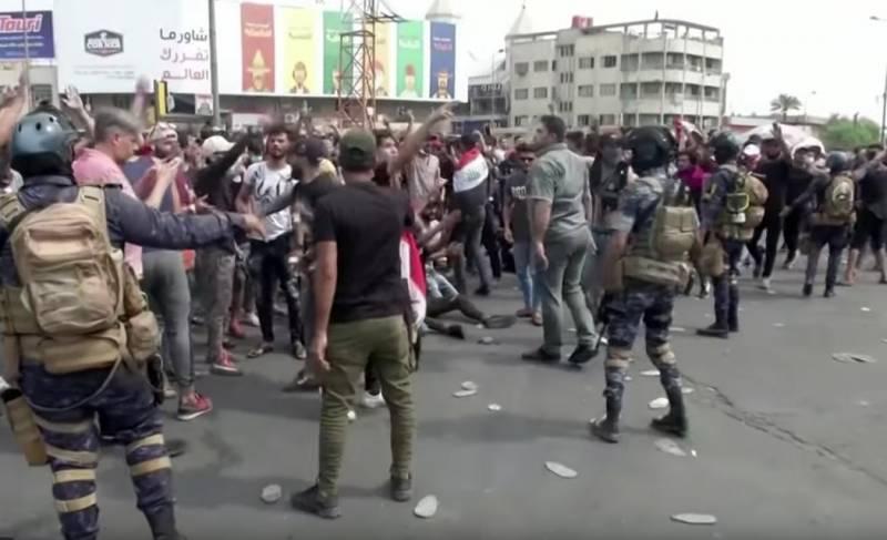 Ирак снова полыхает. Протесты против коррупции и безработицы