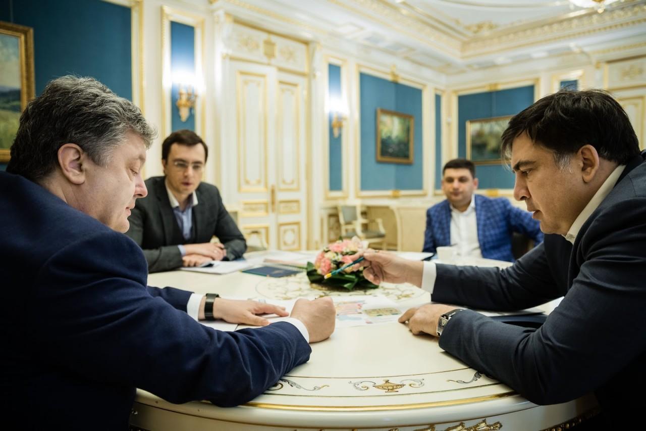 Саакавшили разразился заявлением: Я уничтожу Порошенко!