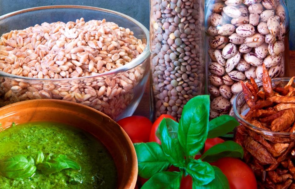 Растительные продукты с большим содержанием белка