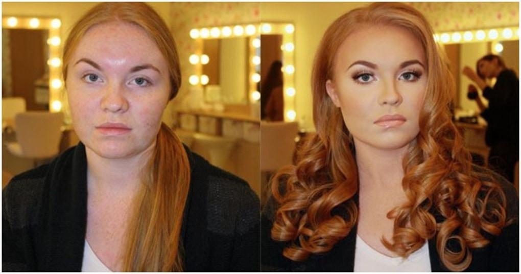 22 фотографии до и после, демонстрирующих силу макияжа